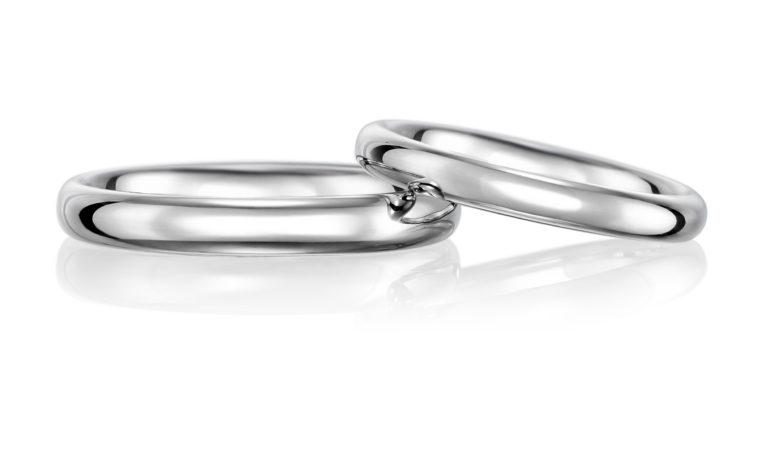 鍛造 結婚指輪No1