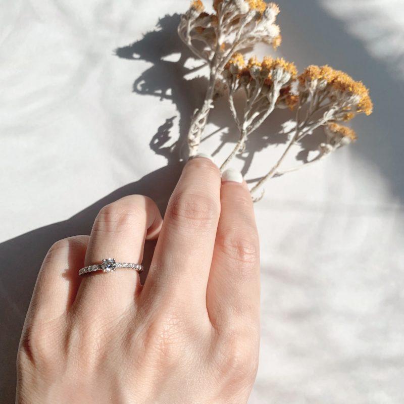 婚約指輪 Venus 0.30ct プラチナ(Pt950)