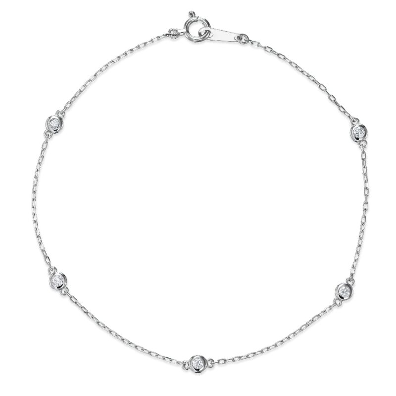 ブレスレット ダイヤモンド 5個