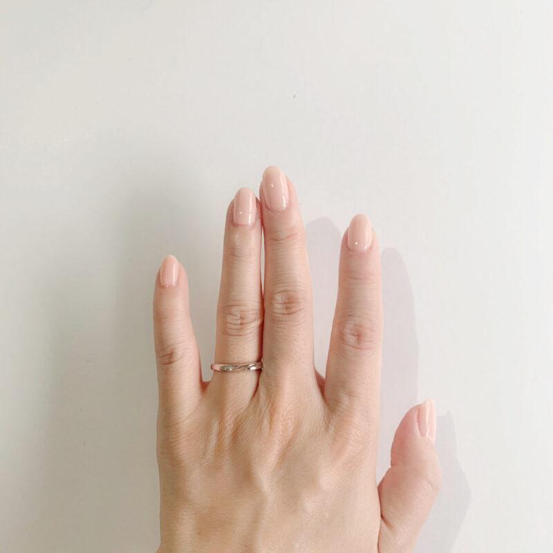 結婚指輪No3 女性用 プラチナ(幅2.5mm / Pt950)
