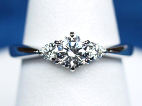 埼玉県 婚約指輪 オーダーメイド 0.5カラット