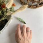 結婚指輪No3 Diamond 0.14ct プラチナ(幅3.2mm / Pt950)