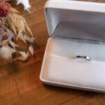 プリンセスカット 結婚指輪 0.04ct プラチナ(幅2.3mm / Pt950)