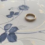 結婚指輪No1 男女兼用 ゴールド ツヤ消し(幅3.0mm / K18)
