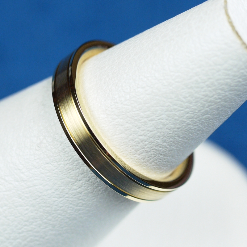 鍛造 結婚指輪 ゴールド