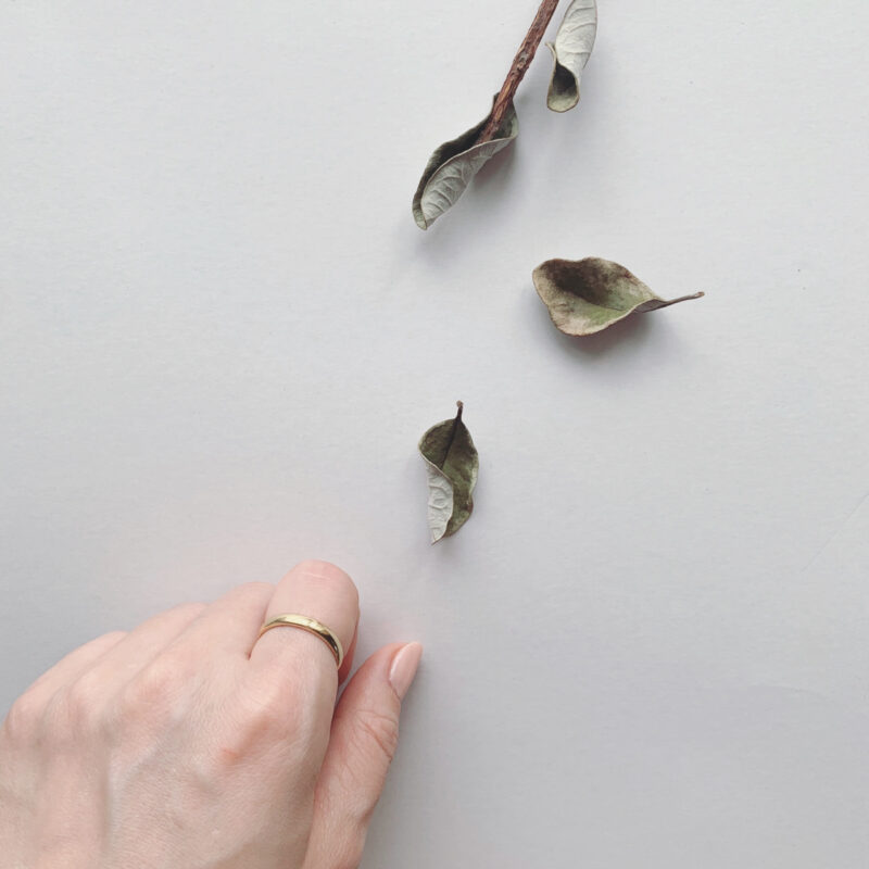 結婚指輪No1 男女兼用 ゴールド(幅3.0mm / K18)